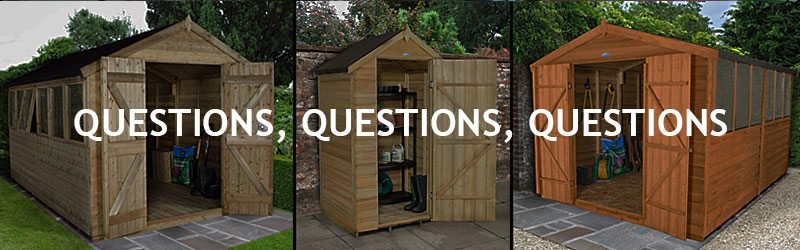 DIY Sheds Questions